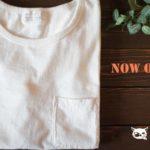 【お知らせ】吊り編みポケットTシャツ(BCTS-S001)本日販売開始!