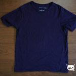 Tシャツの「ねじれ」の事